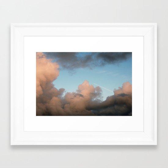 rocket ship... Framed Art Print