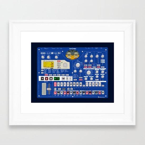 Korg Electribe EMX-1 Framed Art Print