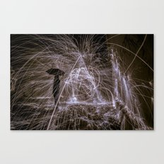raining fire Canvas Print