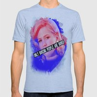 January Jones As Betty D… Mens Fitted Tee Athletic Blue SMALL