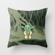 EP5 : Yoda Throw Pillow