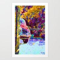 The Driveway  Art Print