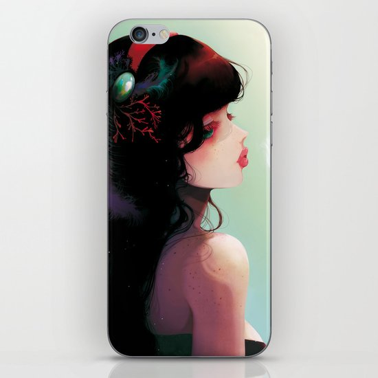 La Cantatrice en greve... iPhone & iPod Skin