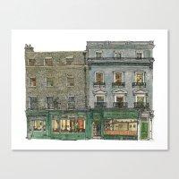 The Copper Kettle, Kings Parade, Cambridge, UK. Canvas Print
