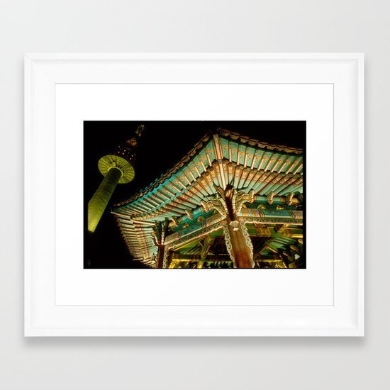 korea Framed Art Print