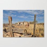 Vacancy Zine - On Route … Canvas Print