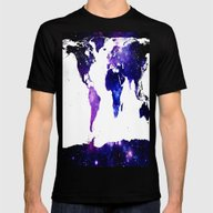 T-shirt featuring World Map. by WhimsyRomance&Fun