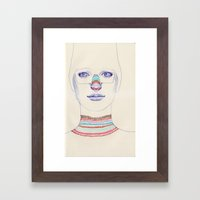 i nose it Framed Art Print
