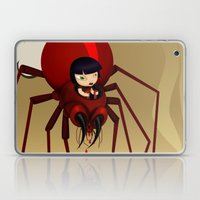 Travel by spider Laptop & iPad Skin