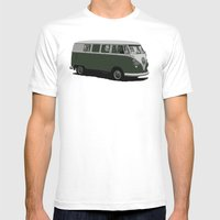 Paddywagen Mens Fitted Tee White SMALL