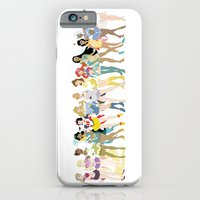 iPhone Cases featuring Sailor Disney Princesses by Nautilus Gifticus