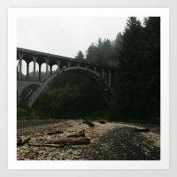 Unknown Bridge Art Print
