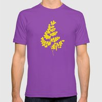 Spring Yellow Mens Fitted Tee Ultraviolet SMALL