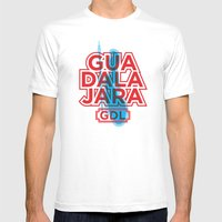 G.D.L. Mens Fitted Tee White SMALL