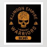 Art Print featuring Bad Boy Club: Klingon Em… by Josh Ln