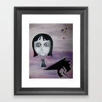 Happy Birthday, Abitha Framed Art Print