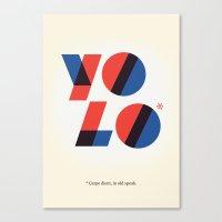Yolo Canvas Print
