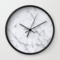 Marble Pattern  Wall Clock