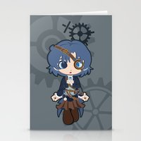 Steampunk Sailor Mercury Stationery Cards