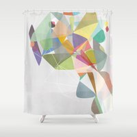 Graphic 201 Shower Curtain