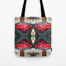 Raspberry Harvest Tote Bag