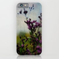 iPhone Cases featuring Ironweed by Olivia Joy StClaire