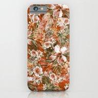 Tropical Orange iPhone 6 Slim Case