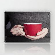 Red Mug Laptop & iPad Skin