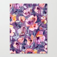May Afternoon - A Waterc… Canvas Print