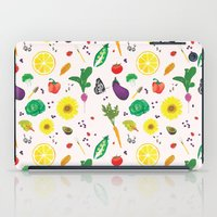 Delicious Vegetables iPad Case