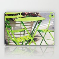 Lime Green Situation In … Laptop & iPad Skin
