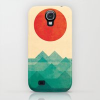 iPhone Cases featuring The ocean, the sea, the wave by Budi Kwan