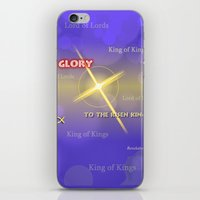 King Of Kings iPhone & iPod Skin