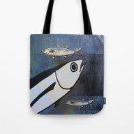 Tuna Fish And Others Tote Bag