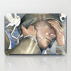 Dreams of freedom II, watercolor iPad Case