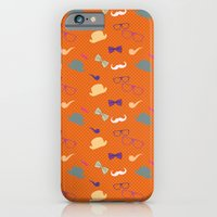 Hipster Pattern iPhone 6 Slim Case