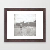 The Longer Framed Art Print