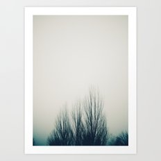Fog Noir 2 Art Print