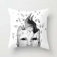 I Will Take Off My Old S… Throw Pillow
