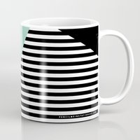 Mint Color Block With St… Mug