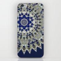 Diamonds And Sapphires iPhone & iPod Skin