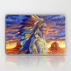 native american colorful portrait Laptop & iPad Skin