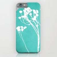 iPhone & iPod Case featuring Abstract Flowers 1 by Mareike Böhmer Graphics