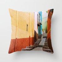 Guanajuato Throw Pillow