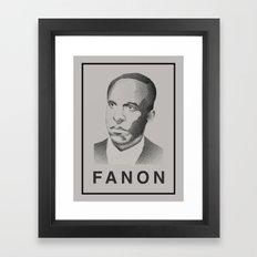 Fanon (Monochrome) Framed Art Print
