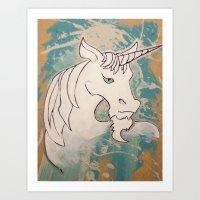 Goatees Not Just For Goa… Art Print