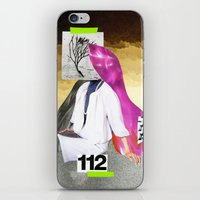 faceplant iPhone & iPod Skin