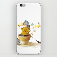 traveller iPhone & iPod Skin