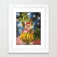 The Stroke of Midnight Framed Art Print