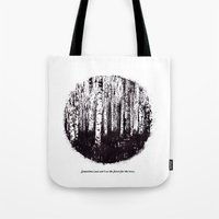 You can't see the forest for the trees Tote Bag